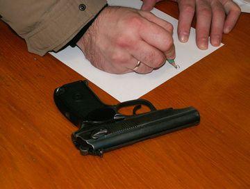 Полиция Кежемского района напоминает о возможности добровольной сдачи оружия
