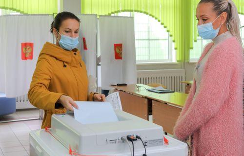 Стали известны предварительные результаты выборов в Красноярском крае