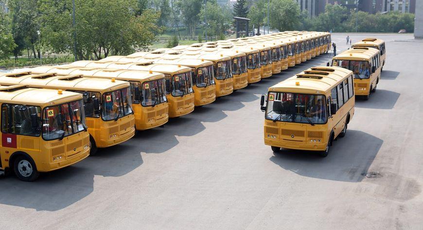 Школы Красноярского края до конца года получат 138 новых автобусов