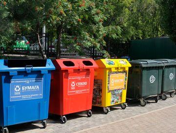 Красноярский край получит более 21 млн рублей на закупку контейнеров для раздельного сбора мусора