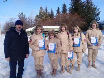 В Красноярском крае выбрали лучших по строевой подготовке.