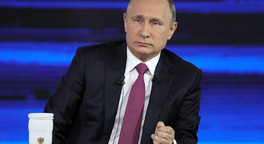 Сегодня Владимир Путин пообщается с жителями в формате прямой линии