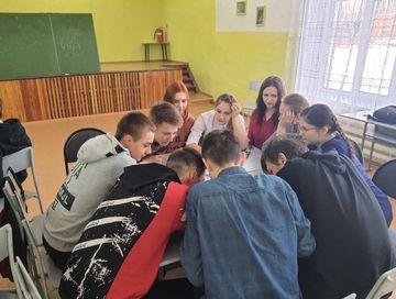В Вершино-Рыбинской школе был проведён квиз «Великая Отечественная война»