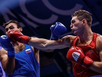 Болеем за Марка Петровского на чемпионате мира по боксу!